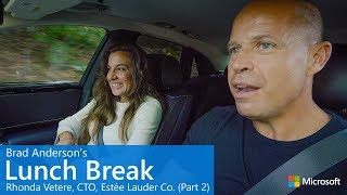 EUROPESE OMROEP | Microsoft | Brad Anderson's Lunch Break / s8 e2 / Rhonda Vetere, CTO, Estée Lauder Co. (Part 2) | 1516813608 2018-01-24T17:06:48+00:00