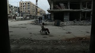 EUROPESE OMROEP | AFP news agency | Residents of Syria rebel enclave deplore