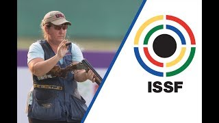 EUROPESE OMROEP | ISSF - International Shooting Sport Federation | Interview with Kimberly RHODE (USA) - 2017 ISSF World Cup Final in New Delhi (IND) | 1509161405 2017-10-28T03:30:05+00:00