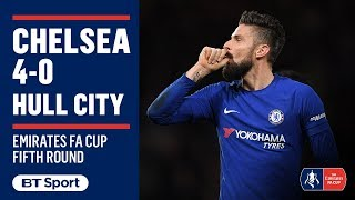 EUROPESE OMROEP | BT Sport | Emirates FA Cup Highlights: Chelsea 4-0 Hull City | 1518819652 2018-02-16T22:20:52+00:00