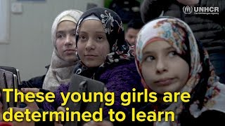 EUROPESE OMROEP | UNHCR, the UN Refugee Agency | Jordan: These young girls are determined to learn | 1518082782 2018-02-08T09:39:42+00:00