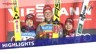 EUROPESE OMROEP | FIS Ski Jumping | Maren Lundby extends her World Cup winning streak in Zao NH #2 | Highlights | 1516529432 2018-01-21T10:10:32+00:00