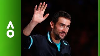 EUROPESE OMROEP | Australian Open TV | Marin Čilić's runner up speech and closing ceremony | Australian Open 2018 | 1517145189 2018-01-28T13:13:09+00:00