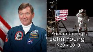 EUROPESE OMROEP | NASA | NASA Remembers Moonwalker, Shuttle Commander John Young | 1515263323 2018-01-06T18:28:43+00:00