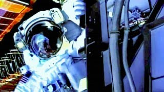 EUROPESE OMROEP | BBC Earth Lab | How a space suit is the world's smallest space craft | Horizon: Space Junk | Earth Lab | 1517911200 2018-02-06T10:00:00+00:00