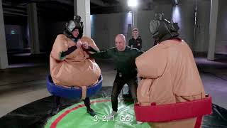 EUROPESE OMROEP | Max Verstappen | Max Motivation: Sumo Knockout Challenge - Max Verstappen and his friends | 1518854476 2018-02-17T08:01:16+00:00