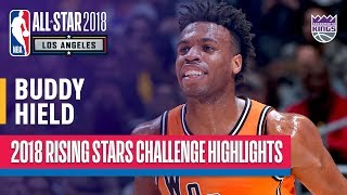 EUROPESE OMROEP | NBA | Buddy Hield Leads Team World, 29 Points in 2018 Rising Stars | Presented by Mtn Dew Kickstart | 1518852600 2018-02-17T07:30:00+00:00