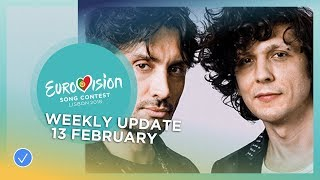 EUROPESE OMROEP | Eurovision Song Contest | Eurovision Song Contest - Weekly Update - 13 February 2018 | 1518537600 2018-02-13T16:00:00+00:00