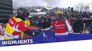 EUROPESE OMROEP | FIS Snowboarding | Pierre Vaultier earns career's 22nd in second SBX race at Feldberg | Highlights | 1517748877 2018-02-04T12:54:37+00:00