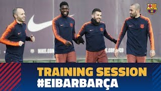 EUROPESE OMROEP | FC Barcelona | Last training session before the match against Eibar | 1518801443 2018-02-16T17:17:23+00:00