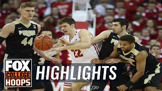 EUROPESE OMROEP | FOX Sports | Purdue vs Wisconsin | HIGHLIGHTS | FOX COLLEGE HOOPS | 1518755832 2018-02-16T04:37:12+00:00