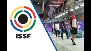 EUROPESE OMROEP | ISSF - International Shooting Sport Federation | 25m Rapid Fire Pistol Men Final - 2017 ISSF World Cup Final in New Delhi (IND) | 1509297661 2017-10-29T17:21:01+00:00