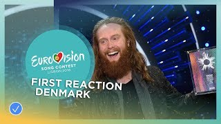 EUROPESE OMROEP | Eurovision Song Contest | First Reaction of Rasmussen - The day after his victory at DMGP | 1518359400 2018-02-11T14:30:00+00:00
