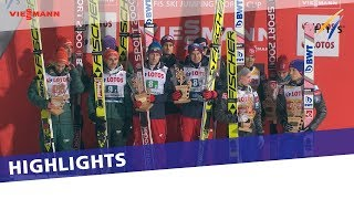 EUROPESE OMROEP | FIS Ski Jumping | Poland drives crowd crazy in Zakopane Team Large Hill | Highlights | 1517075010 2018-01-27T17:43:30+00:00