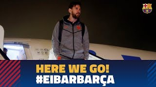 EUROPESE OMROEP | FC Barcelona | Barça lands in Bilbao ahead of the game against  Eibar | 1518813931 2018-02-16T20:45:31+00:00