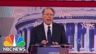EUROPESE OMROEP | NBC News | NRA Chief Wayne LaPierre Says Communities Must 'Harden' Schools With Armed Security | NBC News | 1519320226 2018-02-22T17:23:46+00:00