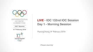 EUROPESE OMROEP | IOC Media | IOC 132nd IOC Session – Day 1 - Morning Session | 1517891236 2018-02-06T04:27:16+00:00