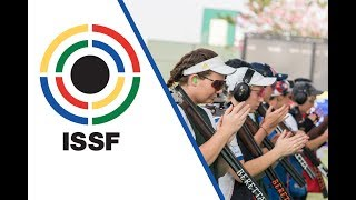 EUROPESE OMROEP | ISSF - International Shooting Sport Federation | Trap Women Final - 2017 ISSF World Cup Final in New Delhi (IND) | 1509220137 2017-10-28T19:48:57+00:00