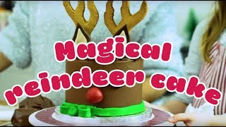 EUROPESE OMROEP | BBC Good Food | How to make a magical reindeer cake - BBC Good Food | 1513351870 2017-12-15T15:31:10+00:00