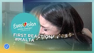 EUROPESE OMROEP | Eurovision Song Contest | First reaction of Christabelle from Malta! | 1517746407 2018-02-04T12:13:27+00:00