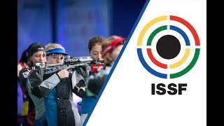 EUROPESE OMROEP | ISSF - International Shooting Sport Federation | 50m Rifle 3 Positions Women Final - 2017 ISSF World Cup Final in New Delhi (IND) | 1509219355 2017-10-28T19:35:55+00:00