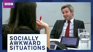 EUROPESE OMROEP | BBC Brit | Job Interview Tips - Socially Awkward Situations - BBC Brit | 1464947487 2016-06-03T09:51:27+00:00