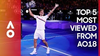 EUROPESE OMROEP | Australian Open TV | The most viewed moments from AO18 | Australian Open 2018 | 1517281497 2018-01-30T03:04:57+00:00