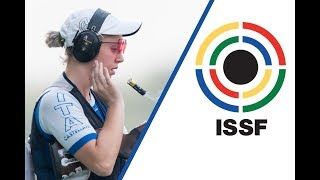 EUROPESE OMROEP | ISSF - International Shooting Sport Federation | Interview with Alessia IEZZI (ITA) - 2017 ISSF World Cup Final in New Delhi (IND) | 1509219773 2017-10-28T19:42:53+00:00