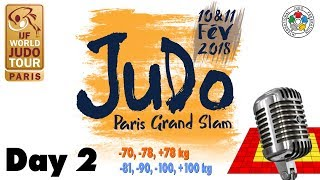 EUROPESE OMROEP | Judo | Grand-Slam Paris 2018: Day 2 | 1518363040 2018-02-11T15:30:40+00:00