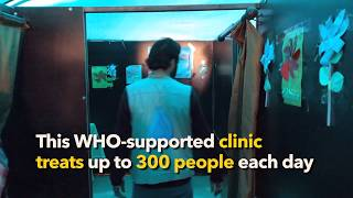 EUROPESE OMROEP | World Health Organization | WHO: Syrian Arab Republic - Supporting Health in Camps | 1517416126 2018-01-31T16:28:46+00:00