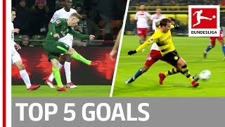 EUROPESE OMROEP | Bundesliga | Müller, Götze and More  - Top 5 Goals on Matchday 22 | 1518562803 2018-02-13T23:00:03+00:00