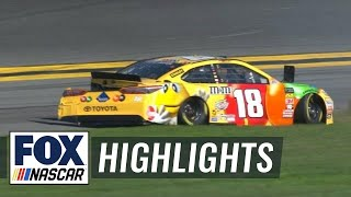 EUROPESE OMROEP | FOX Sports | Kyle Busch crashes early after tire failure | 2018 DAYTONA 500 | FOX NASCAR | 1518989216 2018-02-18T21:26:56+00:00