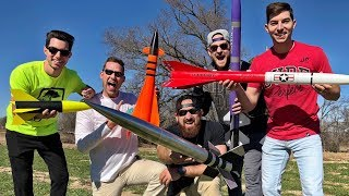 EUROPESE OMROEP | Dude Perfect | Model Rocket Battle | Dude Perfect | 1517871507 2018-02-05T22:58:27+00:00