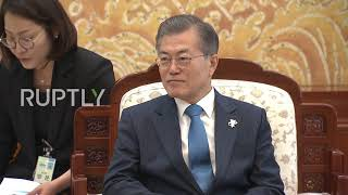 EUROPESE OMROEP | Ruptly | South Korea: Moon lauds Russian participation in Winter Olympics | 1519140674 2018-02-20T15:31:14+00:00
