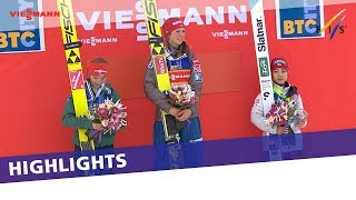 EUROPESE OMROEP | FIS Ski Jumping | Maren Lundby keeps her winning streak alive in Ljubno Normal Hill| Highlights | 1517066911 2018-01-27T15:28:31+00:00