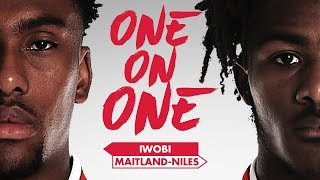 EUROPESE OMROEP | Arsenal | Ainsley Maitland-Niles and Alex Iwobi | One on One | 1517330606 2018-01-30T16:43:26+00:00