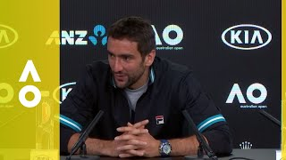 EUROPESE OMROEP | Australian Open TV | Marin Čilić press conference (F) | Australian Open 2018 | 1517152603 2018-01-28T15:16:43+00:00