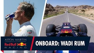 EUROPESE OMROEP | Aston Martin Red Bull Racing | On Board with David Coulthard in Jordan | 1517745601 2018-02-04T12:00:01+00:00