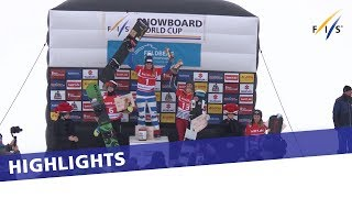 EUROPESE OMROEP | FIS Snowboarding | Michela Moioli dominates first SBX competition in Feldberg | Highlights | 1517662546 2018-02-03T12:55:46+00:00