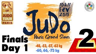 EUROPESE OMROEP | Judo | Grand-Slam Paris 2018: Day 1 - Final Block | 1518289452 2018-02-10T19:04:12+00:00