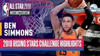 EUROPESE OMROEP | NBA | Ben Simmons Double-Double in 2018 Rising Stars | Presented by Mtn Dew Kickstart | 1518852601 2018-02-17T07:30:01+00:00