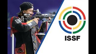 EUROPESE OMROEP | ISSF - International Shooting Sport Federation | Interview with Jolyn BEER (GER) - 2017 ISSF World Cup Final in New Delhi (IND) | 1509219479 2017-10-28T19:37:59+00:00