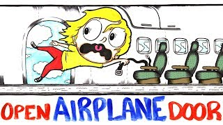 EUROPESE OMROEP | AsapSCIENCE | What If Your Airplane Door Burst Open Mid-Flight? | 1516899604 2018-01-25T17:00:04+00:00