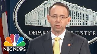 EUROPESE OMROEP | NBC News | Attorney General Rod Rosenstein: 13 Russians Charged For Interfering In US Election | NBC News | 1518816470 2018-02-16T21:27:50+00:00