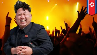 EUROPESE OMROEP | TomoNews Funnies | Kim Jong Un K pop concert: Kim threw a jumping event to celebrate North Korea launch | 1499877752 2017-07-12T16:42:32+00:00