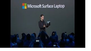 EUROPESE OMROEP | Tech Events | Microsoft unveiled the new Surface Laptop and the Windows 10 S | 1493763581 2017-05-02T22:19:41+00:00