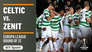 EUROPESE OMROEP | BT Sport | Europa League Highlights: Celtic 1-0 Zenit | 1518733769 2018-02-15T22:29:29+00:00