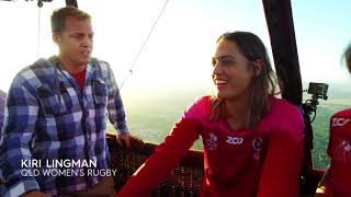 EUROPESE OMROEP | FOX SPORTS AUSTRALIA | QLD Reds Women's Team Go Hot Air Ballooning Over Ipswich | 1518480327 2018-02-13T00:05:27+00:00