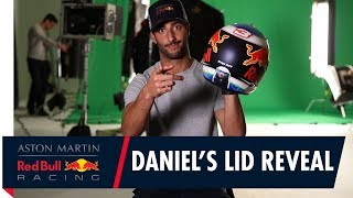 EUROPESE OMROEP | Aston Martin Red Bull Racing | Daniel Ricciardo reveals his helmet design for the Australian Grand Prix | 1518627606 2018-02-14T17:00:06+00:00