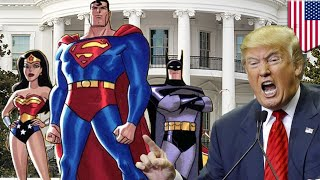 EUROPESE OMROEP | TomoNews Funnies | Trump Witch Hunt: POTUS calls in the Justice League - TomoNews | 1502392327 2017-08-10T19:12:07+00:00